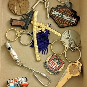 Bundle Of Mens Keychains
